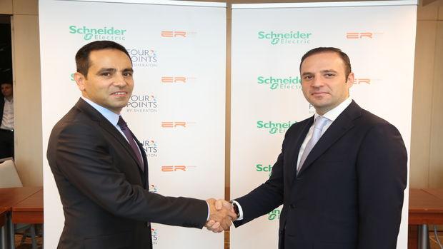 Schneider Electric ve Er Yatırım'dan20 iş otelinde 1 milyon Euro'luk  enerji tasarrufu sağlayacak işbirliği!