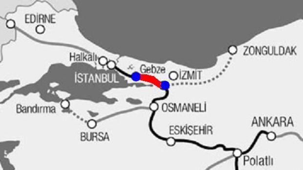 Köseköy Gebze hızlı tren hattıyla  ilgili TCDDden açıklama!