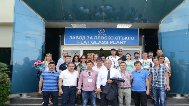 Trakya Cam, Rusya ve Kazakistan'daki müşterilerini Bulgaristan tesislerinde ağırladı!