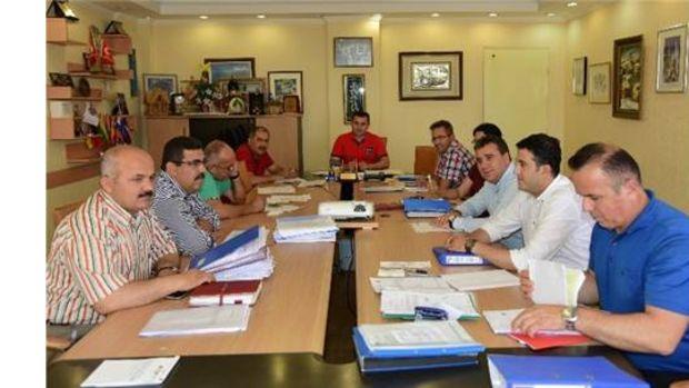 Alanya Belediyesinde haftalık encümen toplantısı yapıldı!