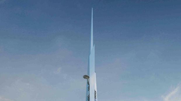 Kingdom Tower asansör montajı başladı!