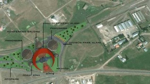 Sarıkamış Allahuekber Dağları Milli Parkı Tanıtım Merkezinin yapımına başlandı!