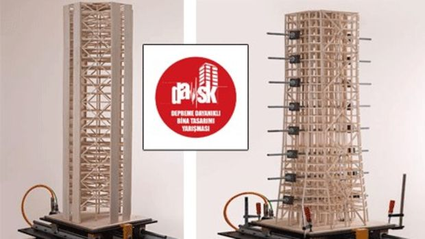 Depreme Dayanıklı Bina Tasarımı Yarışması!