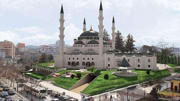 Namazgah Camisinde çalışmalar sürüyor!