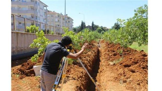 Gaziantep Fıstık Parkında çalışmalar sürüyor!