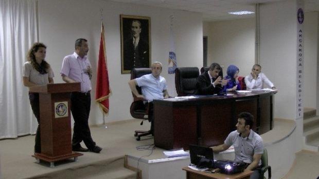 Akçakoca Belediye Meclisi Temmuz ayı toplantısı yapıldı!