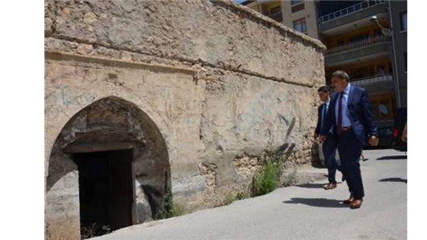 Başkan Gürkan, Tahtalı Hamamda incelemede bulundu!
