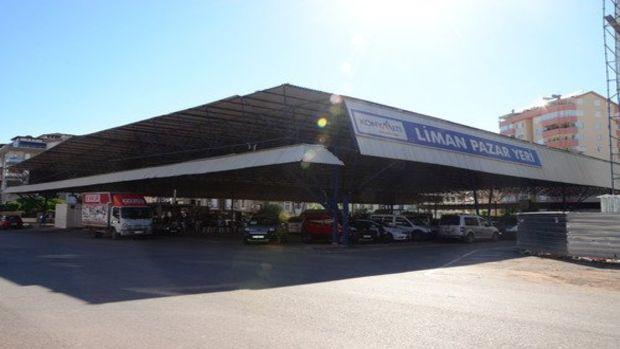 Liman Mahallesindeki pazar yerinin çatısı onarılacak!