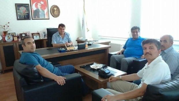 Türkav Eskişehir Şubesinden İnhisar Belediye Başkanına ziyaret!