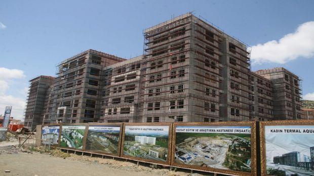 Yozgat Valiliği yeni binasında inşaat çalışmaları devam ediyor!