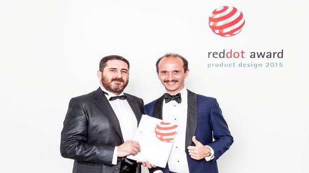 ISVEA tasarım gücünü ikinci kez kazandığı Red Dot ödülüyle tescilledi!
