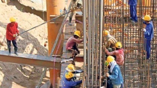 İşgücü istatistiklerine göre inşaatın payı 0,7 azaldı!