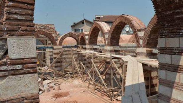 600 yıllık Beyazıt Paşa Medresesi'nde sona gelindi!