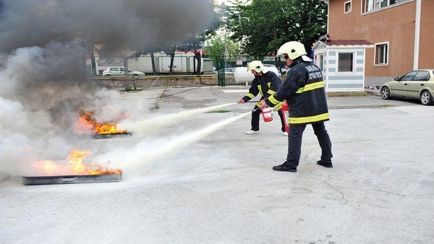 Yangın tüpleri, can ve mal güvenliğinin sigortası!