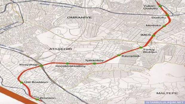 Dudullu-Bostancı metro hattı ihaleye çıkıyor!