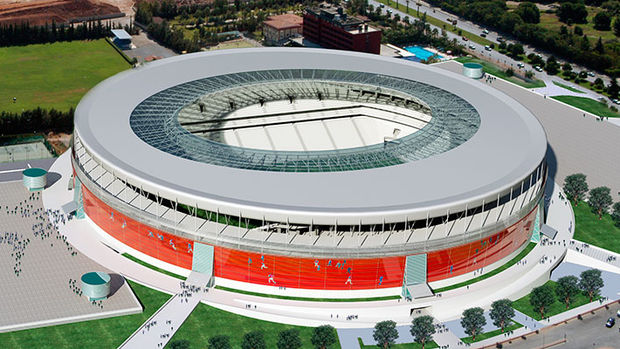 Yeni Antalya Stadı elektrik dağıtacak!