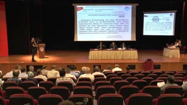 Mersin Büyükşehir Belediyesi Temmuz ayı toplantısı!