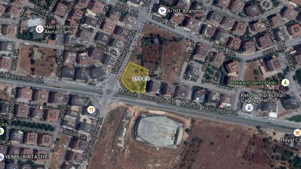 Gaziantep Şehitkamil Belediyesi'nden Satılık Arsa