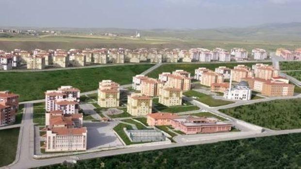 Gaziantep Şehitkamil Toki Evleri 3.  Etap İhalesi 28 Eylül'de
