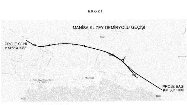 Ankara İzmir Hızlı Tren Projesinde Kamulaştırma