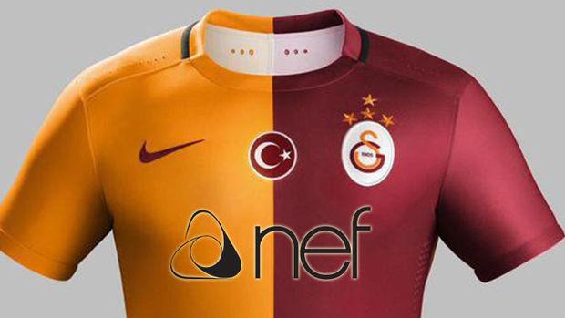 Nef Galatasaray'la 3 Yıllık  Sponsor Anlaşmasına İmza Attı