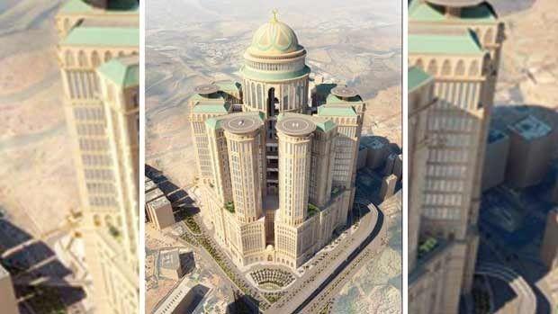 Mekke'ye 10 Bin Odalı Otel