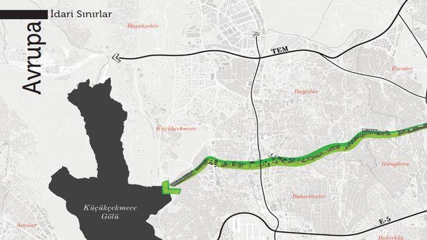 İstanbul'a 5 Milyon Metrekarelik Yeşil Yol