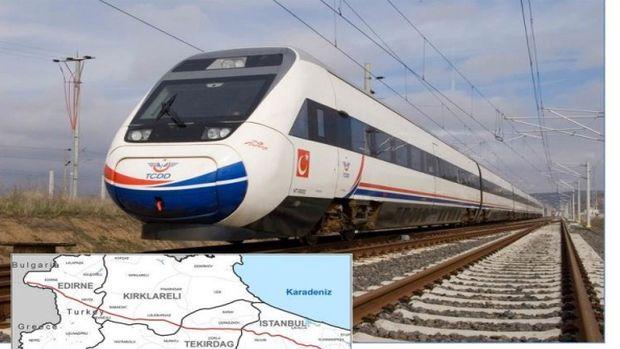 Halkalı Kapıkule Demiryolu Hattı Güzergahı Netleşti
