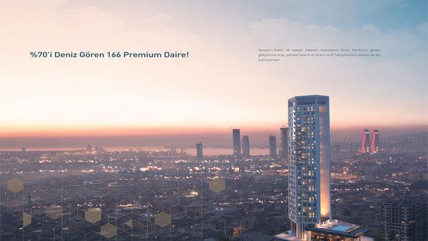 Varyant Tower Bornova Fiyatları 268 Bin TL'den Başlıyor