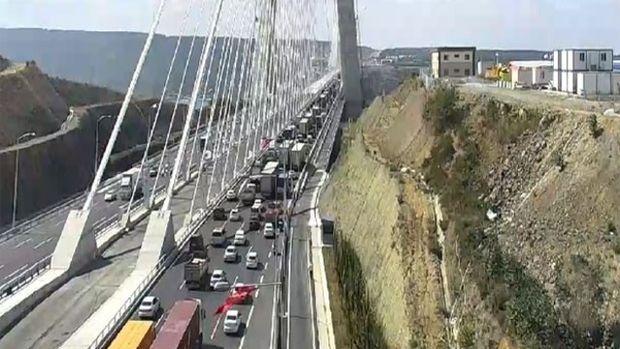 Yavuz Sultan Selim Köprüsünde Gürültü Şoku