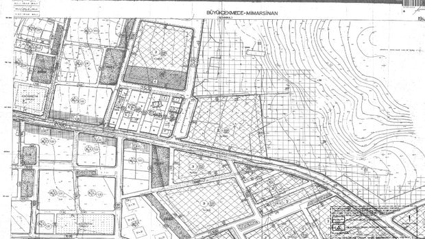 Büyükçekmece Mimarsinan Mahallesi İmar Planı Askıda