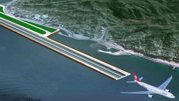 Rize Artvin Havalimanı İhalesi İptal