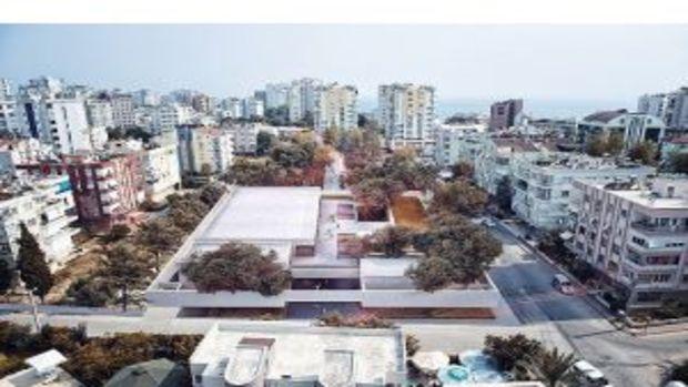 Muratpaşa Belediyesi Gösteri Merkezi İhaleye Hazırlanıyor