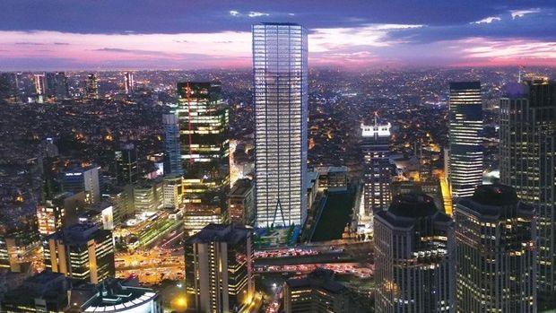 İstanbul Tower 205 Levent'te Yükseliyor