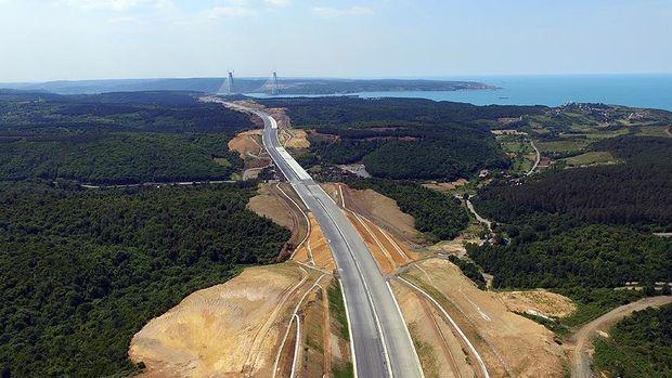 Kuzey Marmara Otoyolu Güzergahına 604 Fidan
