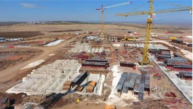 Gaziantep Kuzey Şehir Projesinin Temeli Atıldı