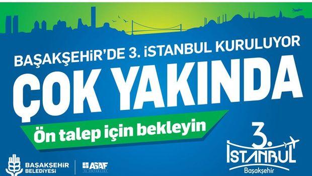 3.İstanbul Başakşehir Projesi 15 Kasım'da Satışta
