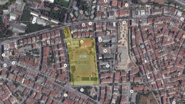 İzmir Konak Yeni Stadyum Projesinde Acele Kamulaştırma