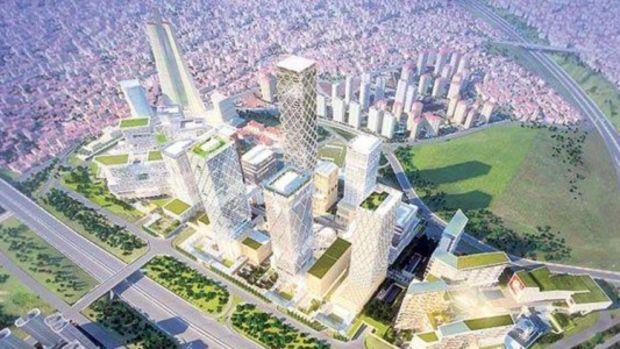 İstanbul Finans Merkezi BDDK ve SPK Binalarının Temeli Atıldı