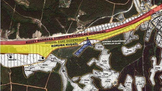 Kuzey Marmara Otoyolu Çekmeköy Bağlantısı Kaydırıldı