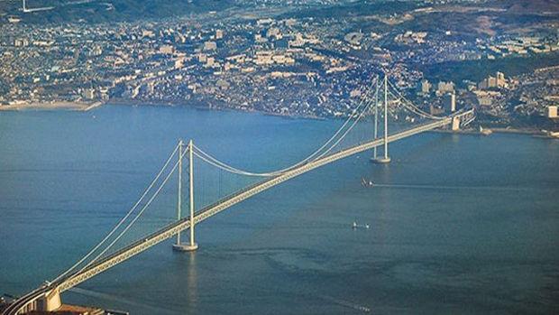 Çanakkale Boğaz Köprüsü'nde Denizde Sondaj Çalışmaları Başladı