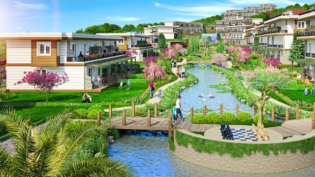 Green Village Şile 2 Projesinde 360 Bin TL'ye 3+1