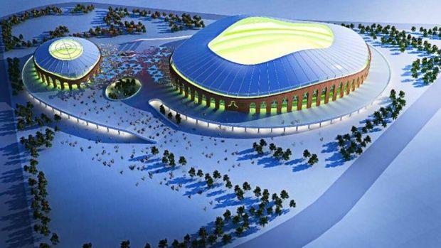 Giresun Çotanak Arena Stadının Temeli Atıldı