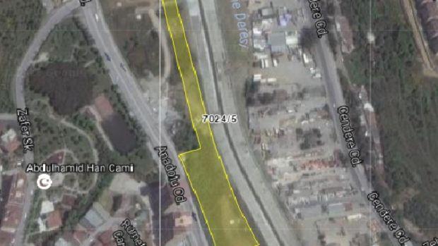 İstanbul DSİ'den Kağıthane'de Satılık 4 Arsa