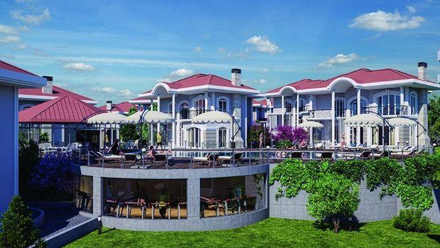 Bahçecik Kavanzade Konakları Projesinde 700 Bin TL'ye 4+1 Villa
