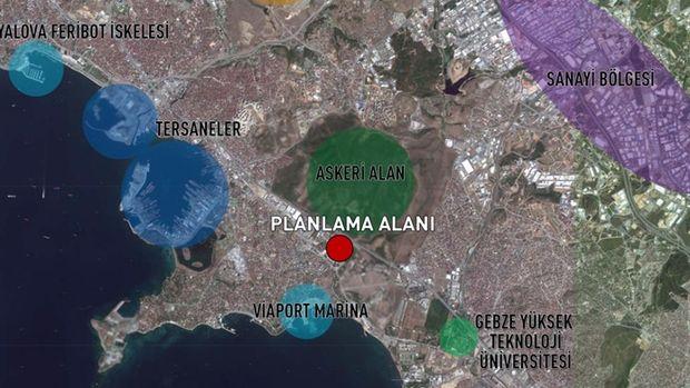İş GYO Tuzla Arsasının İmar Planı Askıya Çıktı