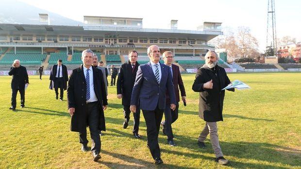 Bursa Atatürk Stadı 100 Bin Kişi Kapasiteli Meydan Oluyor