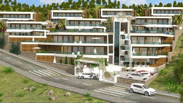 Moda Natura Alanya'da Hemen Teslim Villalar 200 Bin Avro