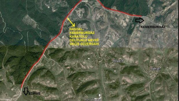 Arnavutköy Deliyunus Karayolu Geçişi İmar Planı Askıda