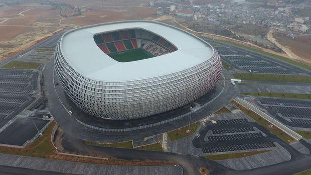 Gaziantep Arena 15 Ocakta Açılıyor